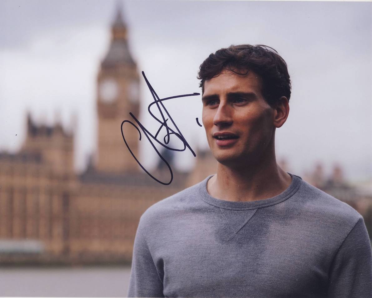 Edard Holcroft Autograph Signed 8x10 Photo