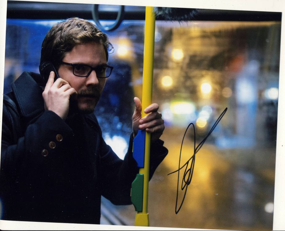 Daniel Bruhl Autograph Signed 8x10 Photo