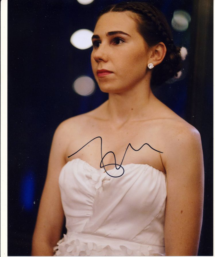 Zosia Mamet Autograph Signed 10x8 Photo