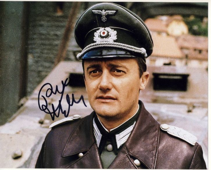 Robert Vaughn Autograph Signed 8x10 Photo