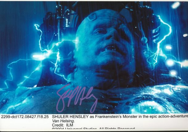 Shuler Hensley Autograph Signed 8x12 Photo