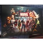 Stan lee Autograph Signed 29x19.5 (Inch) Stretched Canvas