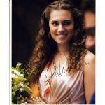 Allison Williams Autograph Signed 10x8 Photo