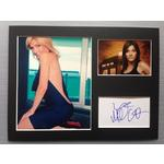 Michelle Collins Autograph Signed 12x16 Display