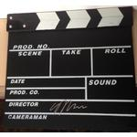 Gareth Edwards Autograph Signed Clapperboard
