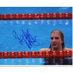 Rebecca Adlington Autograph Signed 8x10 Photo
