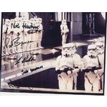Star Wars Autographs Stormtroopers signed by 5