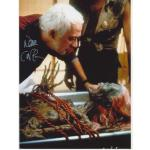 Don Calfa Autograph Signed Return Living Dead 11x8 Photo (8335)