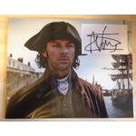 Aidan Turner Autograph Signed 11x14 Display