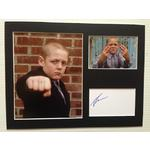 Thomas Turgoose Autograph Signed 12x16 Display