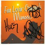 Fun Lovin' Criminals Autographs Signed Mimosa CD Cover