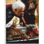 Don Calfa Autograph Signed Return Living Dead 11x8 Photo (8336)