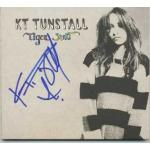 K T Tunstall Autograph Signed Tiger Suit CD Cover