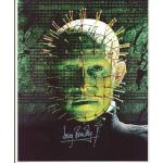Doug Bradley Autograph Hellraiser Signed 10x8 Photo (0108)