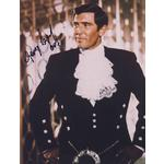 George Lazenby Autograph Signed 10x8 Photo