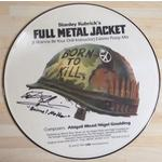 "Adam Baldwin Autograph Signed 12"" Picture Disc VINYL"