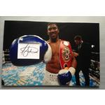 Anthony Joshua Autograph Signed 12x18 Display