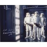 Star Wars Autographs Stormtroopers Signed by 4