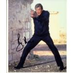 Roger Moore Autograph Signed 10x8 Photo
