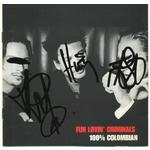 Fun Lovin' Criminals Autographs Signed 100% Colombian CD Cover