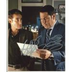 Adrian Pasdar and Greg Grunberg Autographs Signed 10x8 Photo