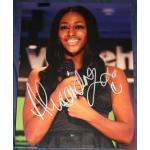 Alexandra Burke Autograph Signed 16x12 Photo