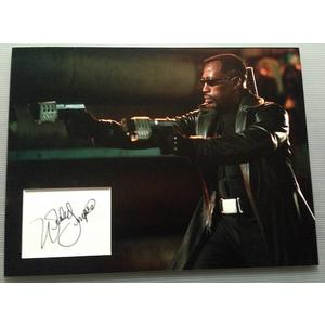 Wesley Snipes Autograph Signed 12x16 Display