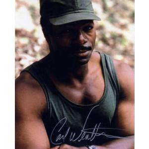 Carl Weathers Autograph Signed 10x8 Photo