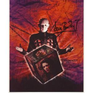 Doug Bradley Autograph Hellraiser Signed 10x8 Photo (0152)
