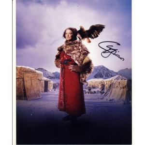 Clare Higgins Autograph Signed 10x8 Photo