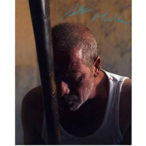 Peter Mullan Autograph Signed 10x8 Photo (5045)