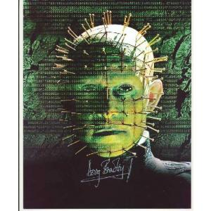 Doug Bradley Autograph Hellraiser Signed 10x8 Photo (0111)