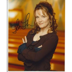 Lea Thompson Autograph Signed Ed 8x10 Photo