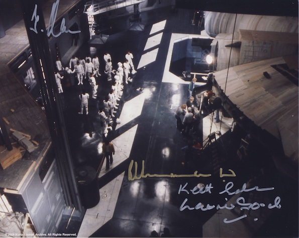 Star Wars Autographs Stromtroppers signed by 4