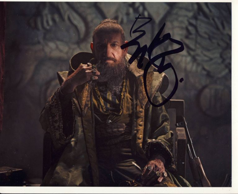 Ben Kingsley Autograph Signed 8x10 Photo