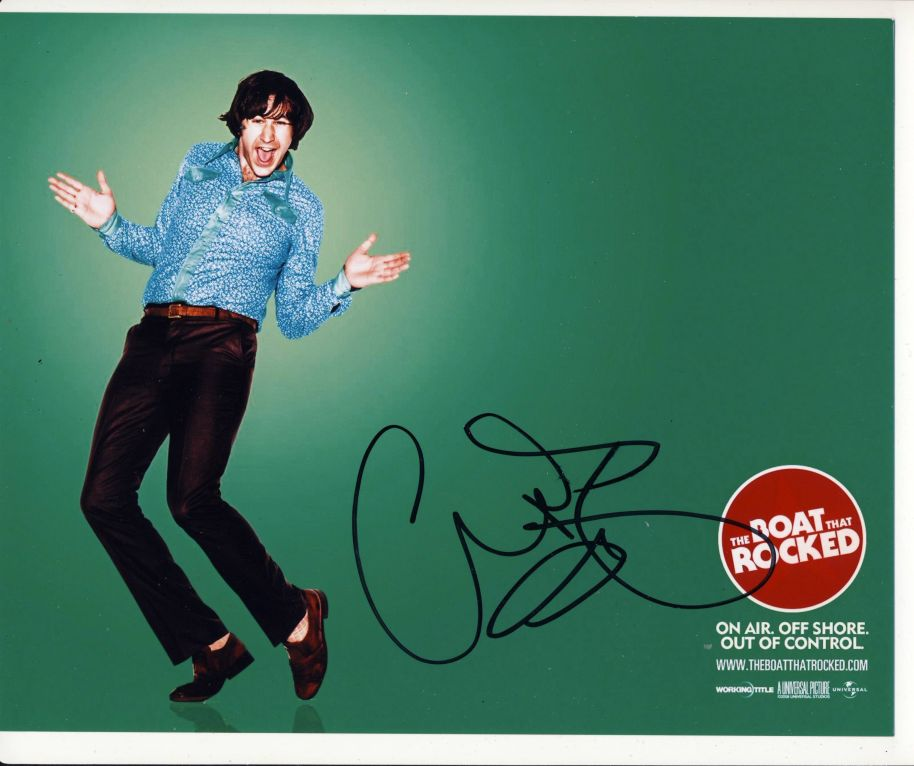 Chris O'Dowd Autograph Signed 8x10 Photo