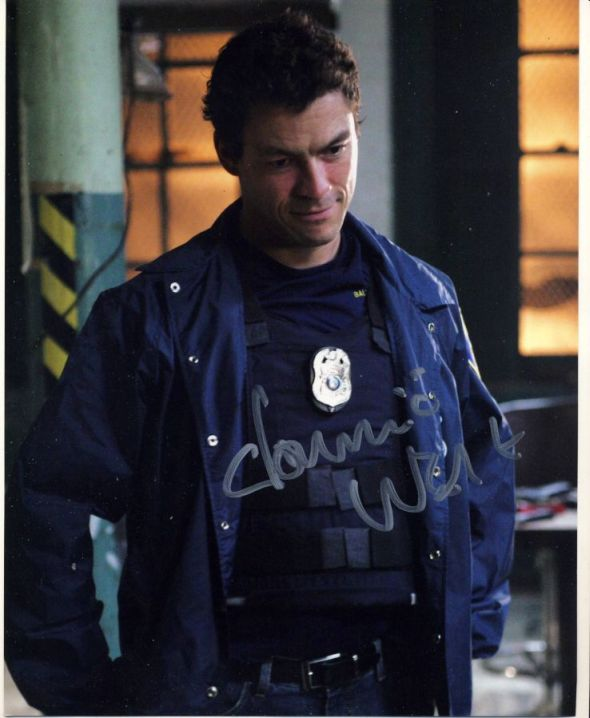 Dominic West Autograph Signed 10x8 Photo