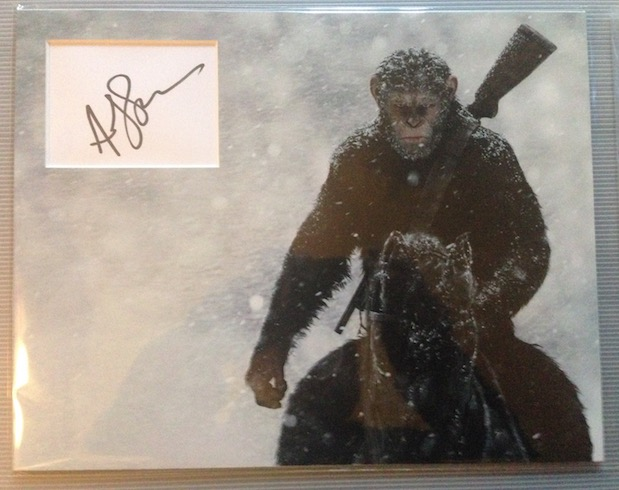 Andy Serkis Autograph Signed 11x14 Display