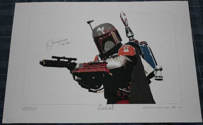 Jeremy Bulloch Autograph Signed Limited Edition Print