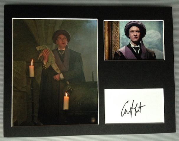 Ian Hart Autograph Signed 12x16 Display