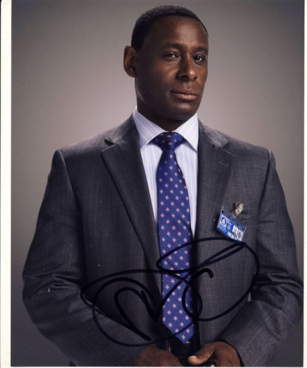 David Harewood Autograph Signed 10x8 Photo