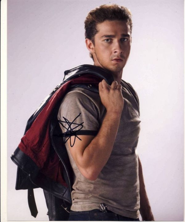 Shia LaBeouf Autograph Signed 10x8 Photo