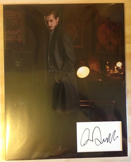 Arthur Darvill Autograph Signed 14x11 Display