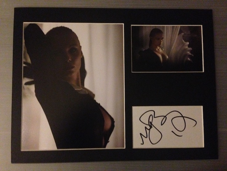 myAnna Buring Autograph Signed 12x16 Display