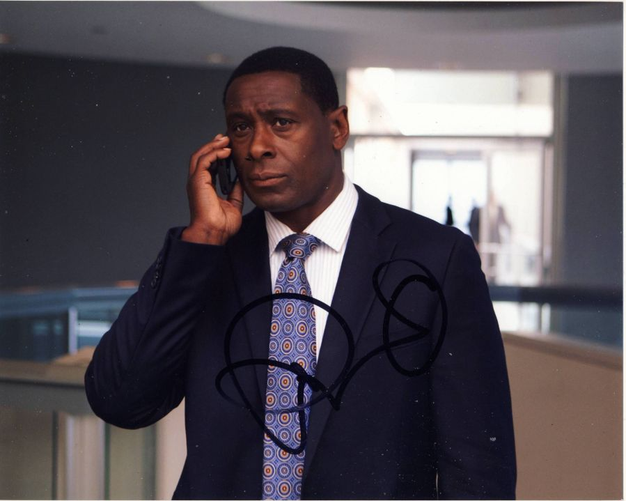 David Harewood Autograph Signed 8x10 Photo