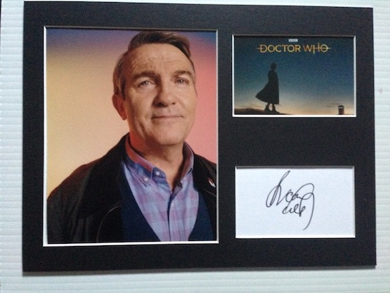 Bradley Walsh Autograph Signed 12x16 Display
