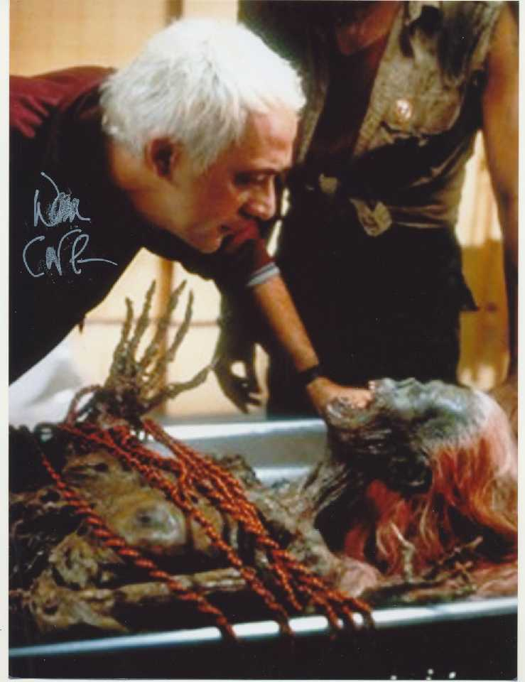 Don Calfa Autograph Signed Return Living Dead 11x8 Photo (8337)