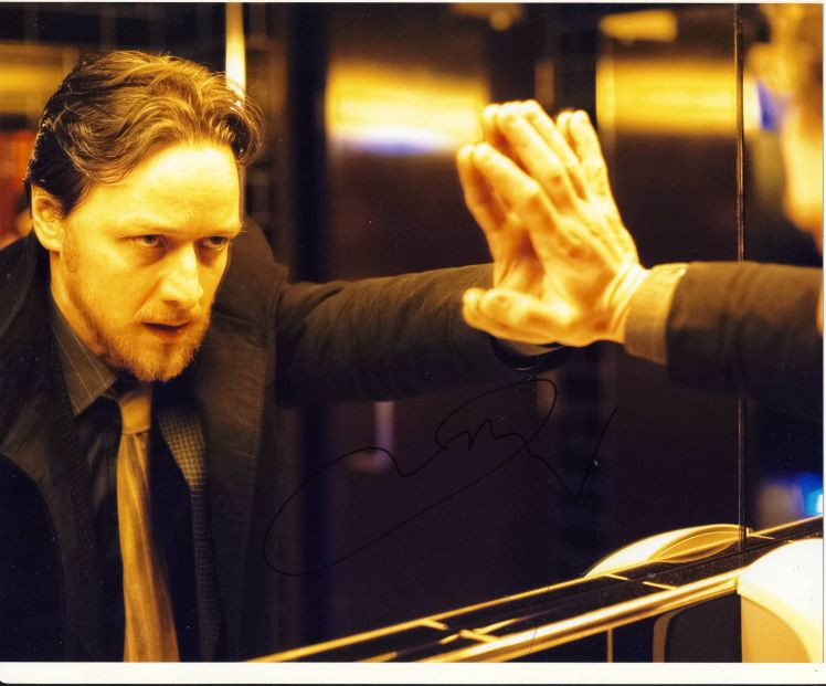 James McAvoy Autograph Signed 8x10 Photo