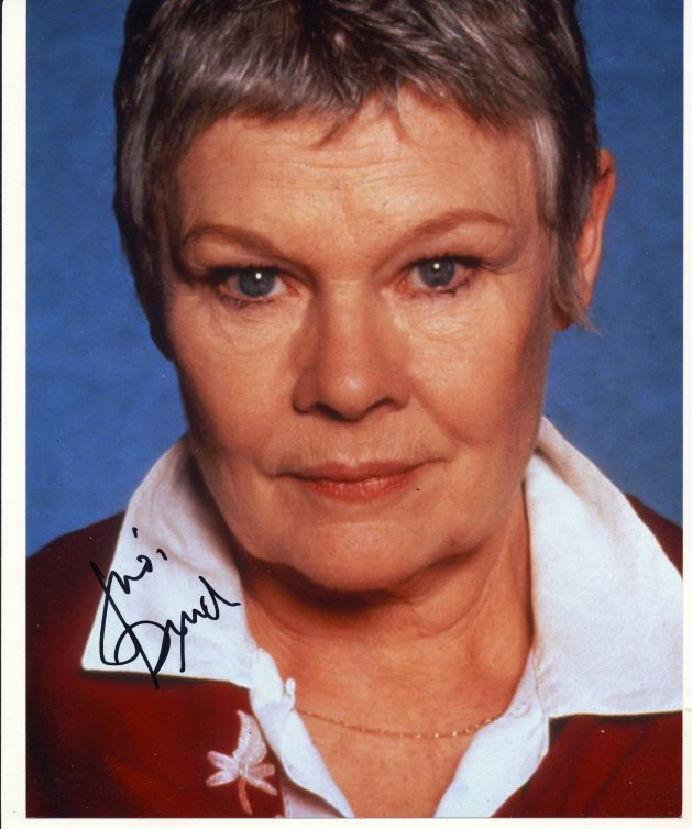 Judi Dench Autograph Signed 10x8 Photo