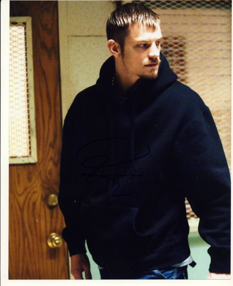 Joel Kinnaman Autograph Signed 10x8 Photo